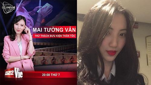 Mai Tường Vân, cô gái ấn tượng nhất Siêu Trí Tuệ: Không chỉ có nhớ tốt mà còn xinh đẹp, quyến rũ