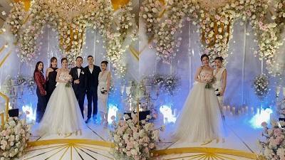 Hot girl Mie Nguyễn cùng chồng về dinh sau 3 năm yêu