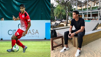 Cầu thủ Singapore va chạm với Quang Hải: Chiều cao khủng, bố là HLV trưởng của đội, mẹ là người mẫu