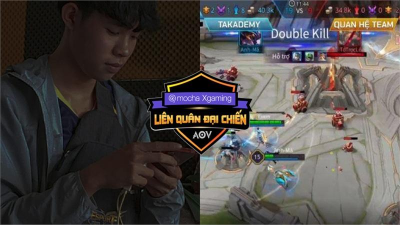 Thua Takademy tại Chung kết Mocha Xgaming Liên quân Đại chiến, đội trưởng Quan Hệ Team vẫn vui vẻ, khen nức nở đội bạn chơi hay