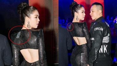Diện váy xuyên thấu gợi cảm ở Tuần lễ thời trang Milan nhưng Ngọc Trinh vẫn kém sang bởi lý do này