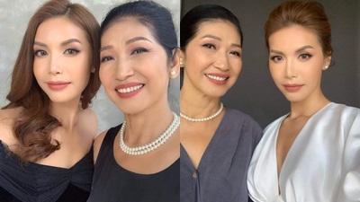 Có mẹ đẹp thế này bảo sao Minh Tú xứng danh 'nữ hoàng sắc đẹp' của showbiz Việt