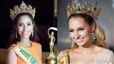 Hi hữu: Cả Hoa hậu và người kế vị Hoa hậu Hòa bình Quốc tế 2015 đều bị tước vương miện