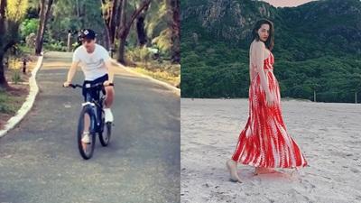 Hồ Quang Hiếu và Bảo Anh đi du lịch Côn Đảo cùng người đặc biệt, cả hai 'yêu lại từ đầu'?