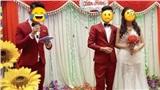 Cô dâu bị 'ra rìa' trong đám cưới vì chú rể và nam MC 'rủ nhau' mặc đồ đôi