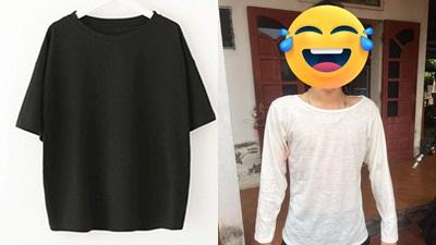 Chết cười với thanh niên mua combo áo thun sporty nhưng hàng nhận được mỏng tang, sexy