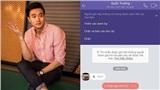 Quốc Trường lại bị kẻ xấu giả mạo, nhắn tin lừa gạt người thân