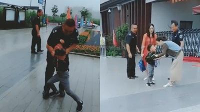 Pha 'tẩu thoát' bất thành của cậu bé chỉ muốn về nhà không muốn đi học khiến dân tình cười rụng rốn