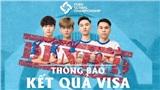 Đại diện Việt Nam không thể tham dự giải đấu quốc tế triệu đô vì rớt visa