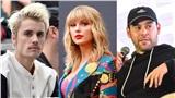 Taylor Swift hẹn Kanye West 'ra gốc mít' nhưng tham gia cuộc chiến chỉ cóScooter Braun và Justin Bieber