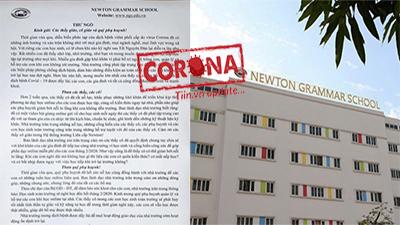 Trường Newton chính thức lên tiếng trước thông tin thu học phí online 2,5 triệu/tháng