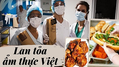 Bánh mỳ Việt đến tay các y bác sĩ chống dịch tại Pháp, nữ sinh Việt được thả tim rần rần vì ý tưởng độc đáo và ý nghĩa