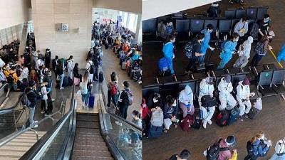 Chuyến bay đưa người Việt từ Mỹ hồi hương: Du học sinh trang bị đồ phòng hộ chống dịch tuyệt đối