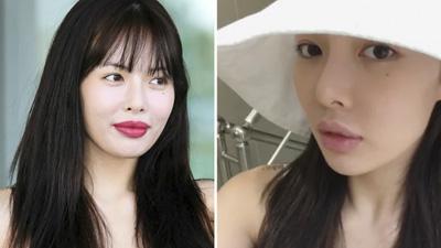 Tự tin khoe mặt mộc, Hyuna xoá tan nghi ngờ phẫu thuật thẩm mỹ khiến môi sưng tấy
