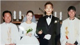 Bức ảnh cưới có màu của vợ chồng Bi Rain - Kim Tae Hee cũng lộ diện sau hơn 2 năm về một nhà