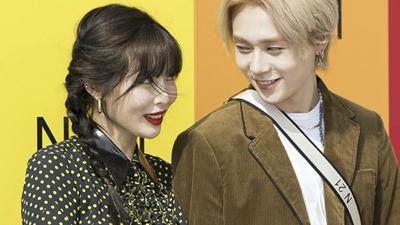 Nắm tay nhau đi dự sự kiện, Hyuna và bạn trai khiến fan thích thú vì phản ứng quá đáng yêu