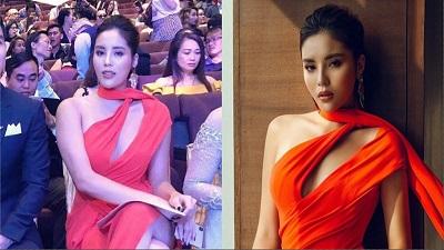 Hoa hậu Kỳ Duyên lộ 'vai u thịt bắp' khiến fans đứng hình vì khác xa ảnh đăng trên mạng xã hội