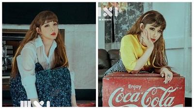 Park Bom khoe nhan sắc 'không tuổi' trên bìa tạp chí