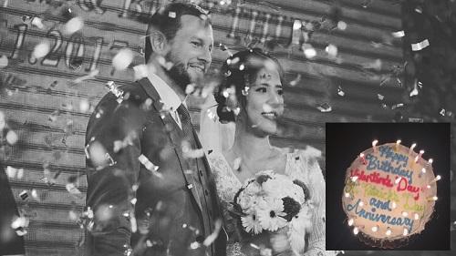 Anh chồng người Mỹ gộp Valentine, sinh nhật, kỷ niệm ngày cưới vào 1 cái bánh, ngày đi lấy vợ phải note vào sổ tay vì sợ... quên