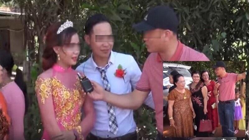 Nam MC vô duyên bị chỉ trích sấp mặt khi tự tiện nhảy vào đám cưới phỏng vấn chú rể: 'Sao em lấy vợ ở nơi nghèo khổ này vậy?'