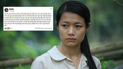 Nữ diễn viên phim 'Thương nhớ ở ai' miệt thị fan Kpop, từng bị bạn diễn tố vô văn hóa