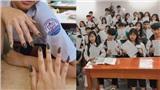 Học sinh khoe lì xì, làm nail chẳng giống ai trong ngày học cuối năm 2019