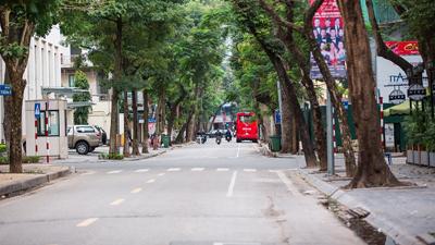 Ngạc nhiên chưa: Đường phố Hà Nội sạch bong không một cọng rác dịp Tết Nguyên Đán