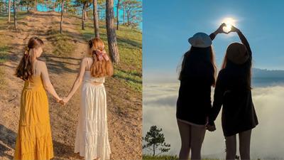 Tình bạn 17 năm của 2 cô gái 9X: Thanh xuân là nhất định phải cùng đứa bạn thân du lịch Đà Lạt một lần trong đời