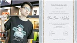 Fan hâm mộ thiết kế thiệp cưới 'cực độc' mừng hạnh phúc Bomman và Minh Nghi