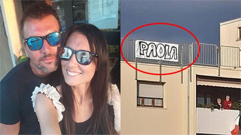 Cái kết ấm cho 'chuyện tình ban công' của cặp đôi người Ý