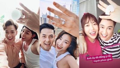 Dàn sao Việt thi nhau bắt trend 'về chung một nhà' của Đông Nhi và Ông Cao Thắng