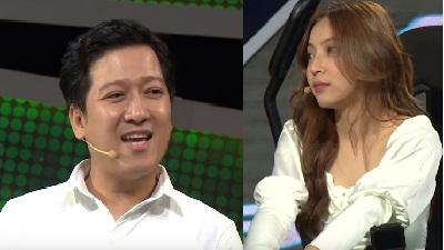 Vừa bị chỉ trích vì 'đá xéo' chuyện tình cảm của Huỳnh Phương, Trường Giang lại gây bức xúc khi liên tục hỏi xoáy bạn gái Quang Hải