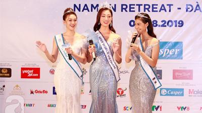 Top 3 Miss World Việt Nam 2019 lần đầu tiết lộ sở thích chung và 'bóc phốt' những tật xấu của nhau sau khi đăng quang