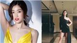 Hoa hậu Đỗ Mỹ Linh lầy lội mượn váy thi quốc tế của Á hậu Kiều Loan để mặc đi ăn bún đậu