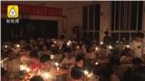 Trường học mất điện, học sinh đốt nến ôn thi đại học miệt mài