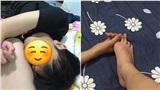 Cô nàng khoe khéo tư thế 'bám riết' của bạn trai trong khi ngủ khiến cộng đồng mạng gato