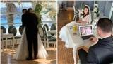 Bức ảnh chú rể chơi game trong hôn lễ khiến cộng đồng mạng chỉ trích và sự thật đằng sau