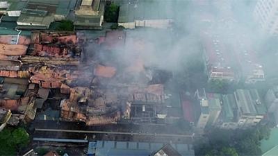 Trước khi xảy ra vụ cháy, 'đất vàng' nhà máy Rạng đông được quy hoạch làm chung cư?