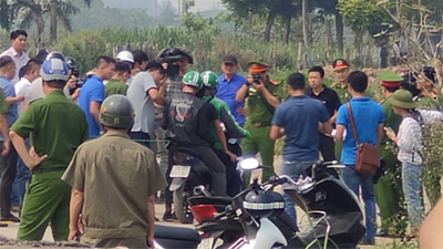 NÓNG: Đang thực nghiệm hiện trường vụ nam sinh 18 tuổi chạy xe ôm công nghệ bị sát hại ở Hà Nội