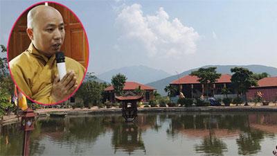 Đề nghị giao gần 6.000 m2 đất của sư Toàn mua, chuyển nhượng trái phép cho xã quản lý