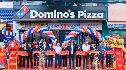 Domino's pizza tưng bừng khai trương cửa hàng thứ 40 tại Việt Nam