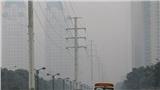 Hình ảnh buổi sáng của thủ đô Hà Nội mù mịt ô nhiễm không khí