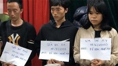 Thiếu nữ 19 tuổi cùng hai thanh niên vận chuyển 55 bánh heroin từ Nghệ An đi Cao Bằng tiêu thụ