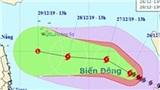 Bão số 8 giật cấp 15; sóng cao tới 9m; biển động dữ dội