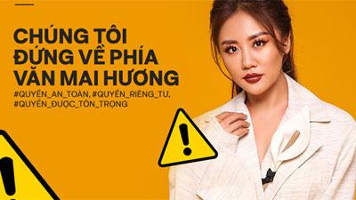 Dàn Hoa hậu 'hot' nhất showbiz Việt đã chính thức bước vào cuộc đấu tranh vì quyền riêng tư, công khai ủng hộ Văn Mai Hương quyết liệt
