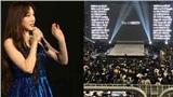 Concert của Taeyeon (SNSD) gây tranh cãi: Fan chen chúc đến mức ngất xỉu, SM bỏ mặc chẳng bận tâm