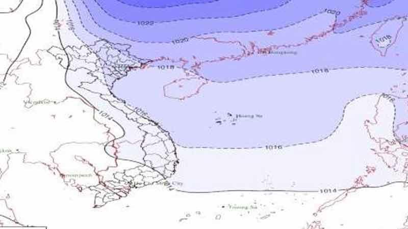 Tin mới nhất về không khí lạnh: Miền Bắc trời rét, mưa lớn nhiều ngày
