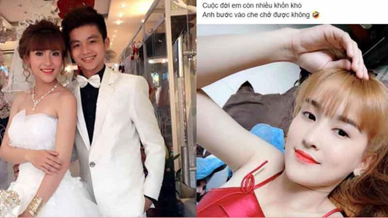 Rộ tin cô dâu 9X Tiền Giang đã chia tay với chồng 2000 vì có loạt động thái lạ