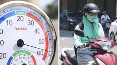 Nắng nóng lên tới đỉnh điểm, c nguy hại sức khỏe
