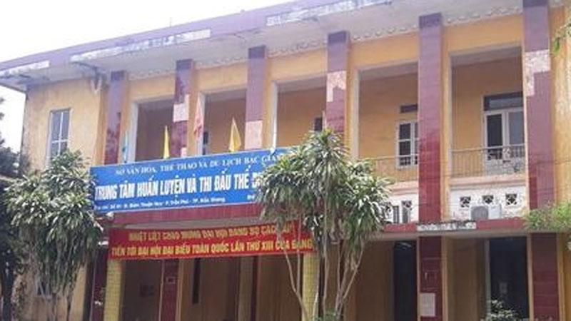 Bắc Giang: Phát hiện nhiều sai phạm tại Trung tâm huấn luyện và thi đấu TDTT